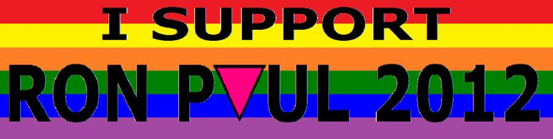 Queers for Ron Paul by Khaos-Pants