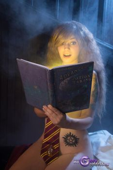 Books And Cleverness by MyGeekGoddess