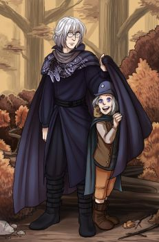 Unsounded - Father and son by karaii