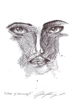 Second Attempt of 'Cross Hatching' by Imagine8it