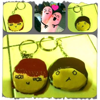 Fathers day Key Chains by Nanby
