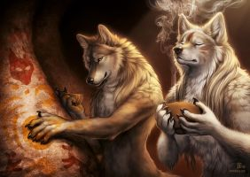 Messages for Eternity by Nimrais