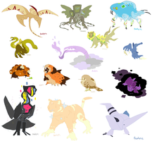 Critters by Beachpie