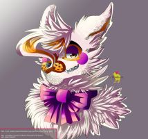 Lolbit [ FNAF AU ] by Hiyoko-little-chick