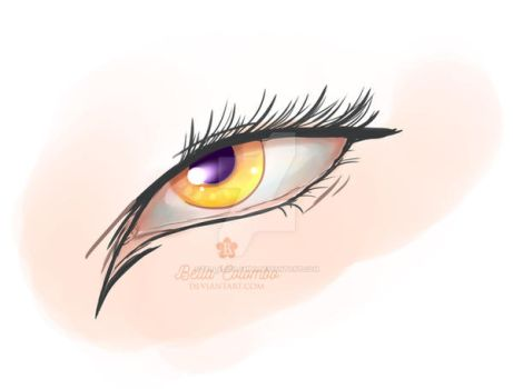 Kiyo's eye by Bella-Colombo