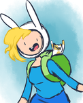 Fionna and Cake by Mararia0w0