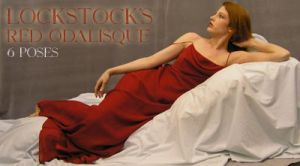 Red Odalisque by lockstock