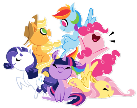 my little pony by foxtali