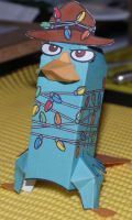 perry the platypus by monyetduckzilla