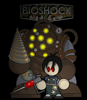 Bioshock by cabal-art