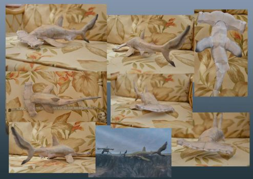 Zoo Tycoon Paper Collection - Scalloped Hammerhead by DrWheelieMobile