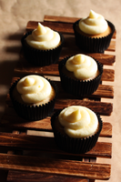 Maple Cupcakes by munchinees
