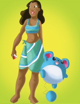 Trainer Nani would like to Battle by snoopgirl