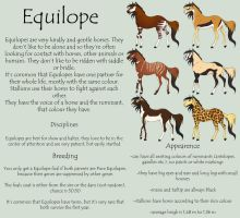 Equilope Breedsheet INCORRECT *see description* by Okami-Haru