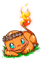 Charmander by Frog-of-Rock