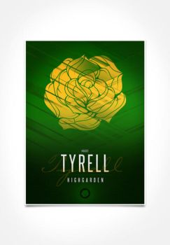 House Tyrell Sigil III (house seat) by P3RF3KT