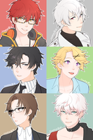 [F] Mystic Messenger by lilieskies