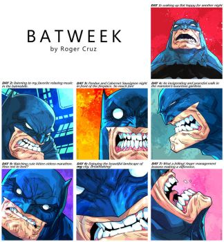 Batweek by Roger Cruz by rogercruz