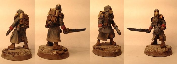 Death Korps of Krieg Infantry Squad Watchmaster by Usafkid94