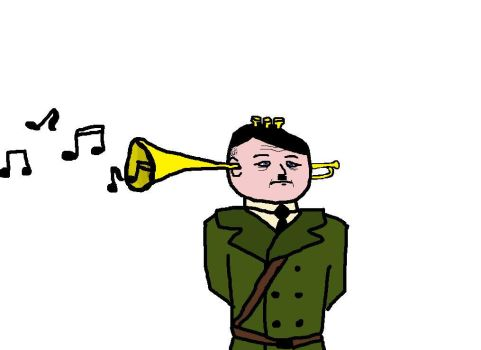 Hitler the Trumpet by Tingest