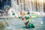 Leafa - A hot day by RomaiLee