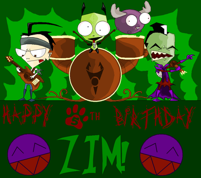 Zim Birthday 2 by Chloemew4ever