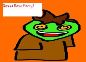 Sweet Rave Party Guy by epic-agent-63