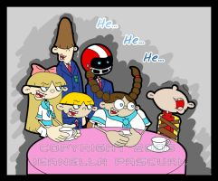 KND: A Delightful Tea Party by MistyGlow