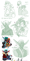 Sketch Requests and Doodles - MTTverse by IrisHime