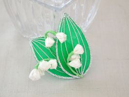 Lily of the valley clip by elblack