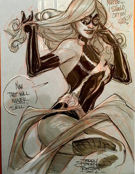 Ms Marvel Boston Comic Con by TerryDodson