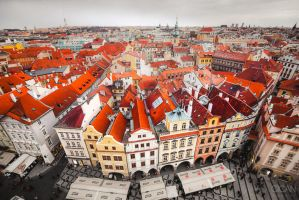 Prague from above by sican