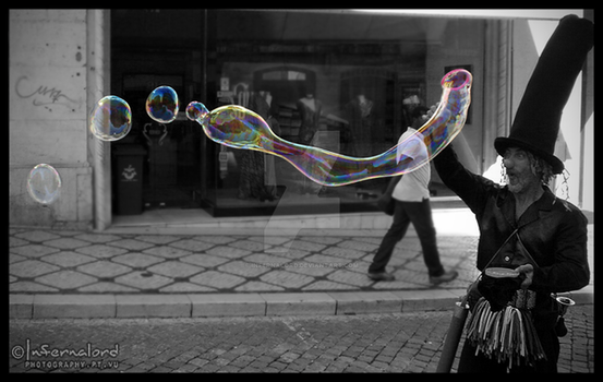 Street Bubbles by Infernalord