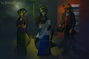 Sibling Thieves in Time - Victorian London by JennissyCooper