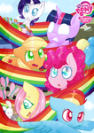 [CE] Cutie Mark Chronicles Comic Cover by StormSwirl1
