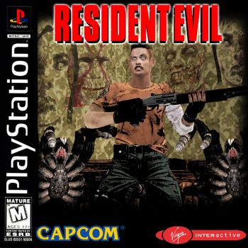 RE 20th Anniversery - Resident Evil 1 Cover Remade by REFanBoy2012