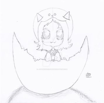 Little Nepeta's Easter by JetStrikeEclipse