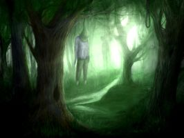 the Suicide forest by Nerva1