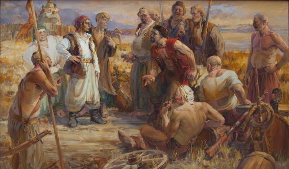Entry into the Cossack freemen by tiN-naR