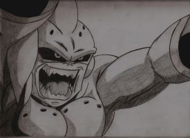 Kid Buu, by YoungTalent93