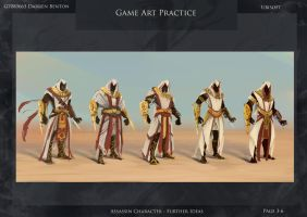 Refined Assassin thumbnails by Daz18