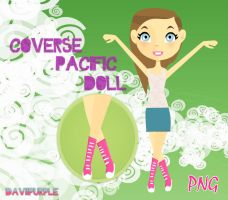 Converse Pacific Png PSD by Daviipurple