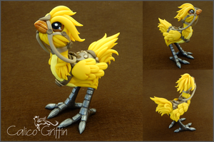 Custom order - Chocobo by CalicoGriffin